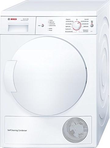 Bosch WTW84162 Wärmepumpentrockner / A ++ / 7 kg / Weiß / ActiveAir Technology / SelfCleaning Condenser - 1