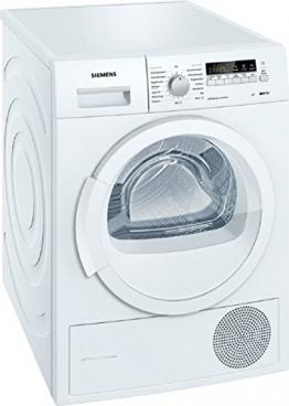 Siemens WT46W261 Wärmepumpentrockner / A++ / 8 kg / Weiß / Restlaufanzeige - 1