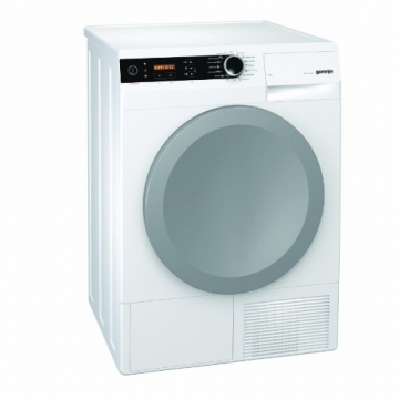Gorenje D 9866 E Wärmepumpentrockner / A+++ / 9 kg / Automatische Programmunterbrechnung bei geöffneter Tür / weiß - 1