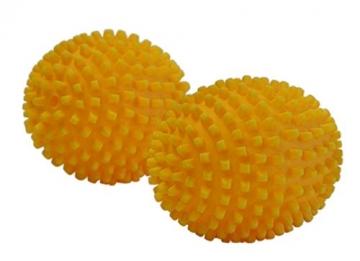 4 Stück (2x 2er Set) purclean Trocknerbälle, flauschige Wäsche und ökologisch Weichspüler sparen - 1