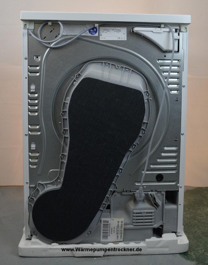 Die Rückansicht vom Siemens iQ700 WT46W261.