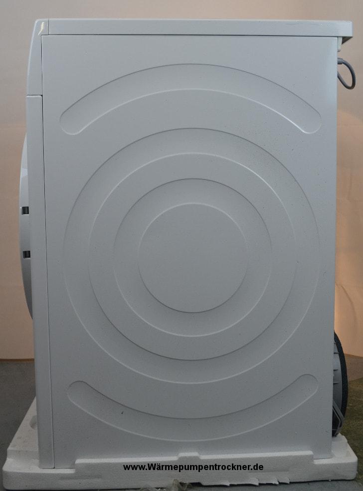 Die rechte Seite vom Siemens iQ700 WT46W261.