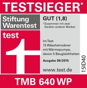 Bestnote 1,8 bei Stiftungwarentest
