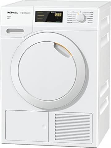 Miele TDB 230 WP Active Wärmepumpentrockner mit geringem Energieverbrauch & Trocknungszeit/Energieklasse A++ (211 kWh/Jahr)/Trockner (7kg) mit Knitterschutz/schonender Wäschetrockner/weiß -