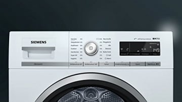 Siemens WT7WH540 Wärmepumpentrockner/A+++ / 160 kWh/Jahr / Weiß / 148 UpM/SoftDry Trommel -